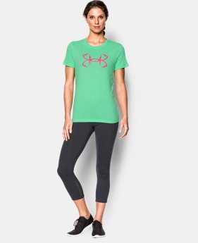 Women's UA Hook Logo Tri-Blend T-Shirt LIMITED TIME: FREE SHIPPING 1 Color $29.99