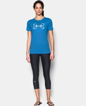 Women's UA Charged Cotton® Tri-Blend Hook T-Shirt  4 Colors $24.99