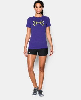 Women's UA Hook Logo Tri-Blend T-Shirt LIMITED TIME: FREE SHIPPING  $29.99