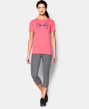 Women's UA Charged Cotton® Tri-Blend Hook T-Shirt LIMITED TIME: FREE U.S. SHIPPING 2 Colors $22.99