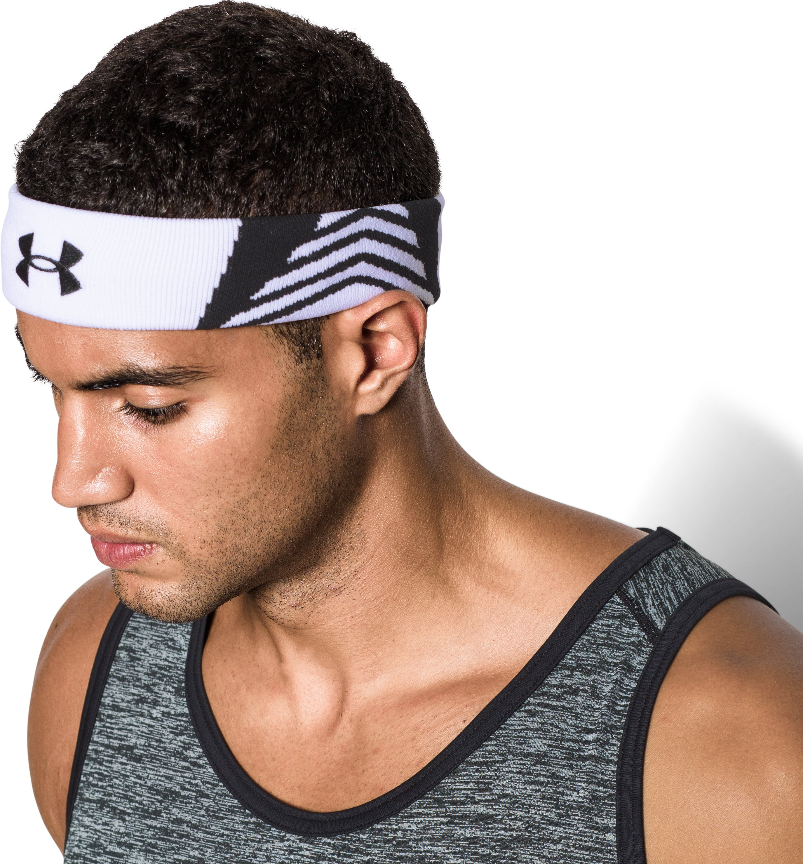 UA ArmourVent Headband, High-Vis Yellow, undefined