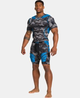 Men's Gameday Armour® Camo Short Sleeve Baselayer  1 Color $38.99