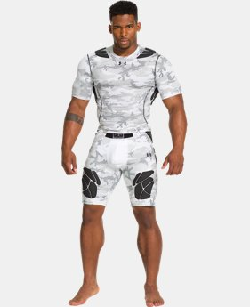Men's Gameday Armour® Camo Short Sleeve Baselayer
