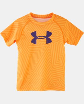 Boys' Pre-School UA Big Logo Favella Print T-Shirt
