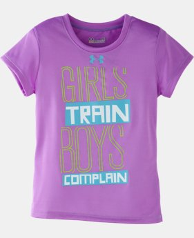 Girls' Pre-School UA Girls Train T-Shirt
