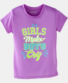 Girls' Pre-School UA Girls Make Boys Cry T-Shirt