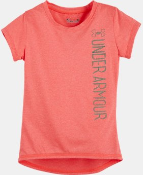 Girls' Pre-School UA Co-Mingled Logo T-Shirt