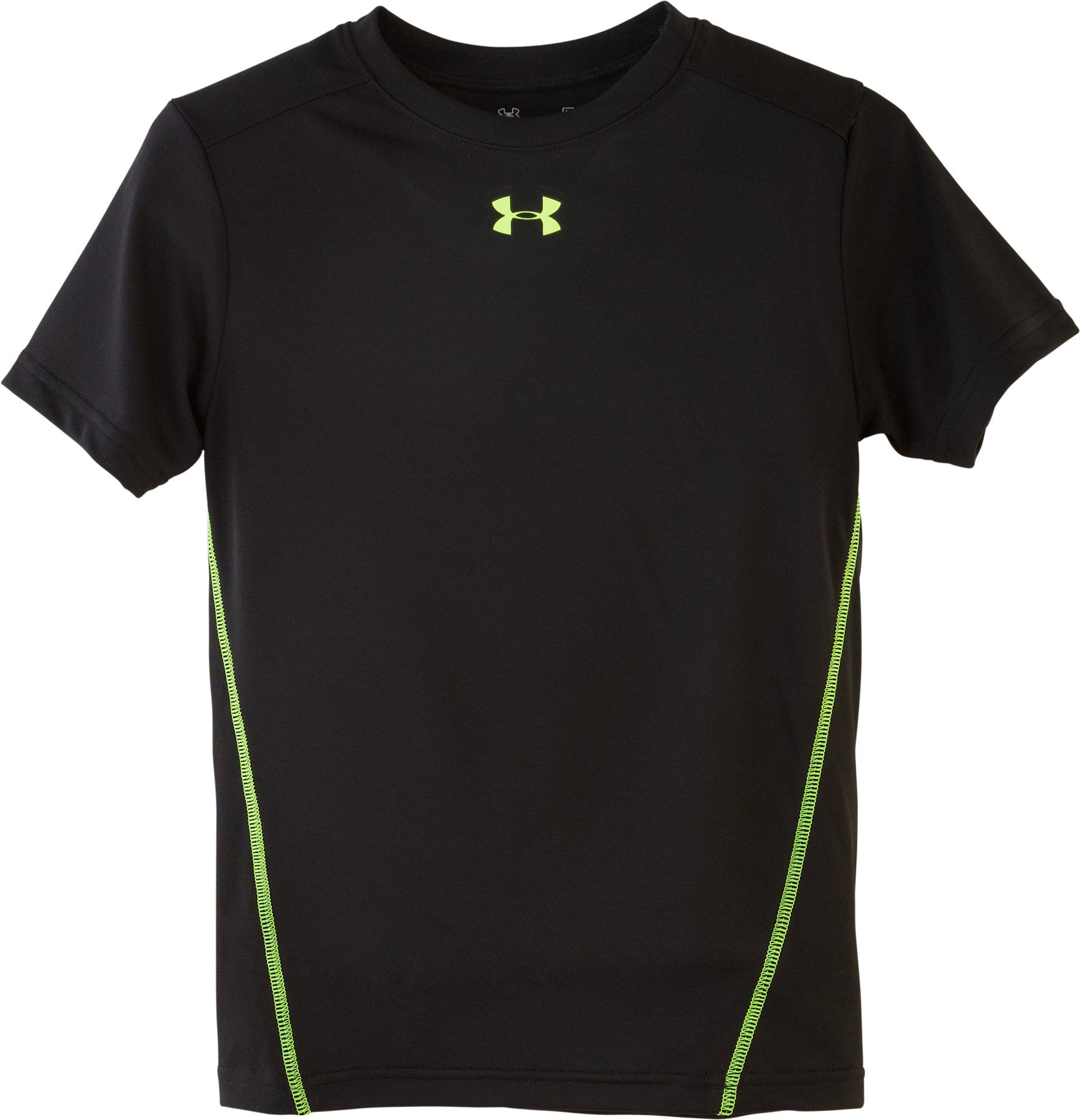 Boys' Toddler UA Tech™ T-Shirt, Black , Laydown