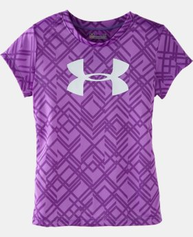 Girls' Toddler UA Big Logo Favella Lace T-Shirt