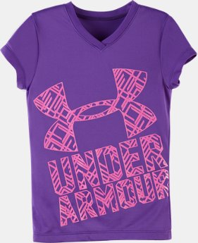Girls' Toddler UA Branded V-Neck