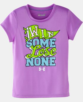 Girls' Toddler UA Win Some Lose None T-Shirt