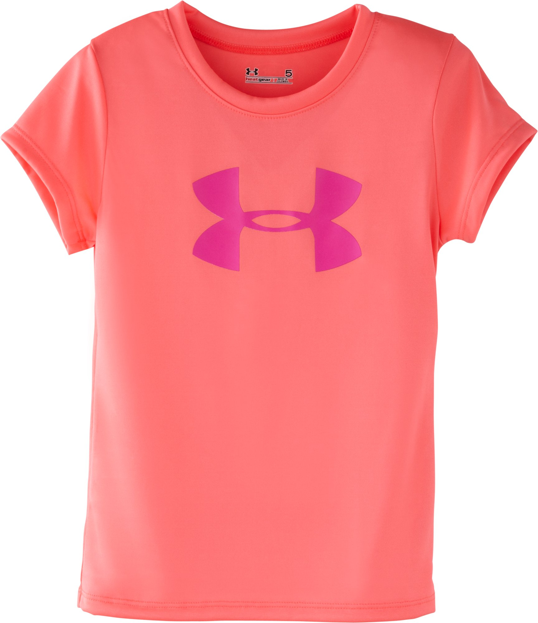 Girls' Infant UA Big Logo T-Shirt, BRILLIANCE, Laydown