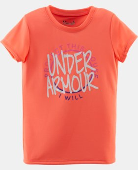 Girls' Infant UA PTH T-Shirt