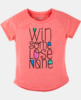 Girls' Infant UA Co-Mingled Win Some Lose None Raglan