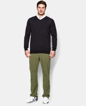 Men's UA Tips V-Neck Sweater  1 Color $104.99