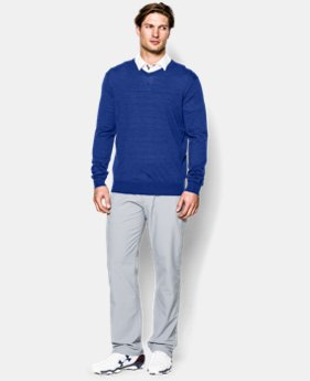 Men's UA Tips V-Neck Sweater