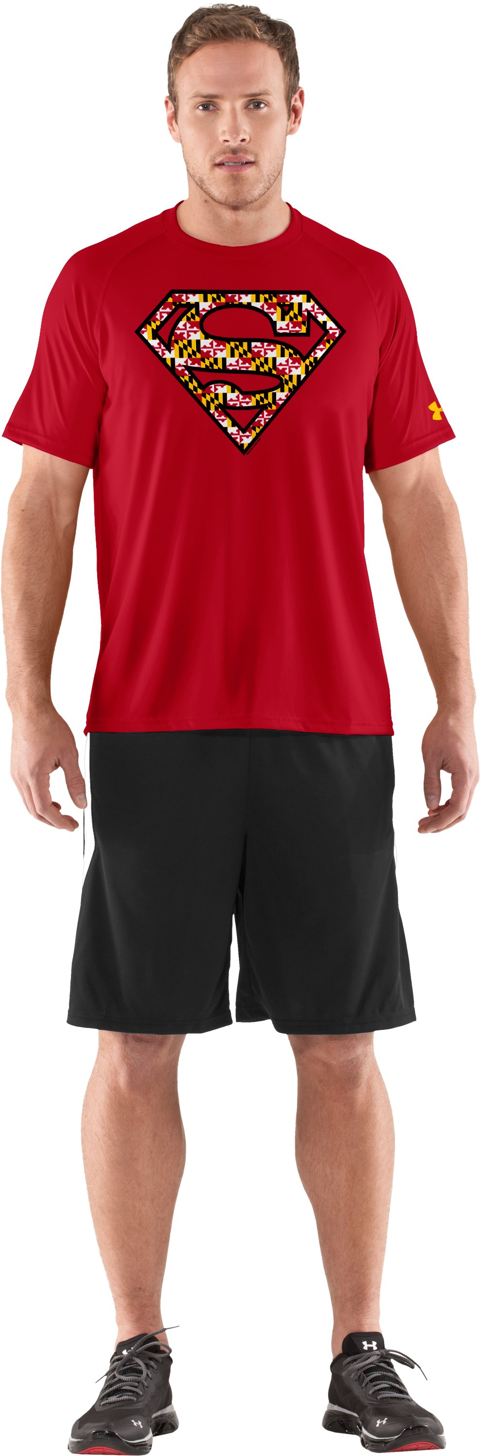 Men's Under Armour® Alter Ego Maryland Superman T-Shirt, Red, zoomed image