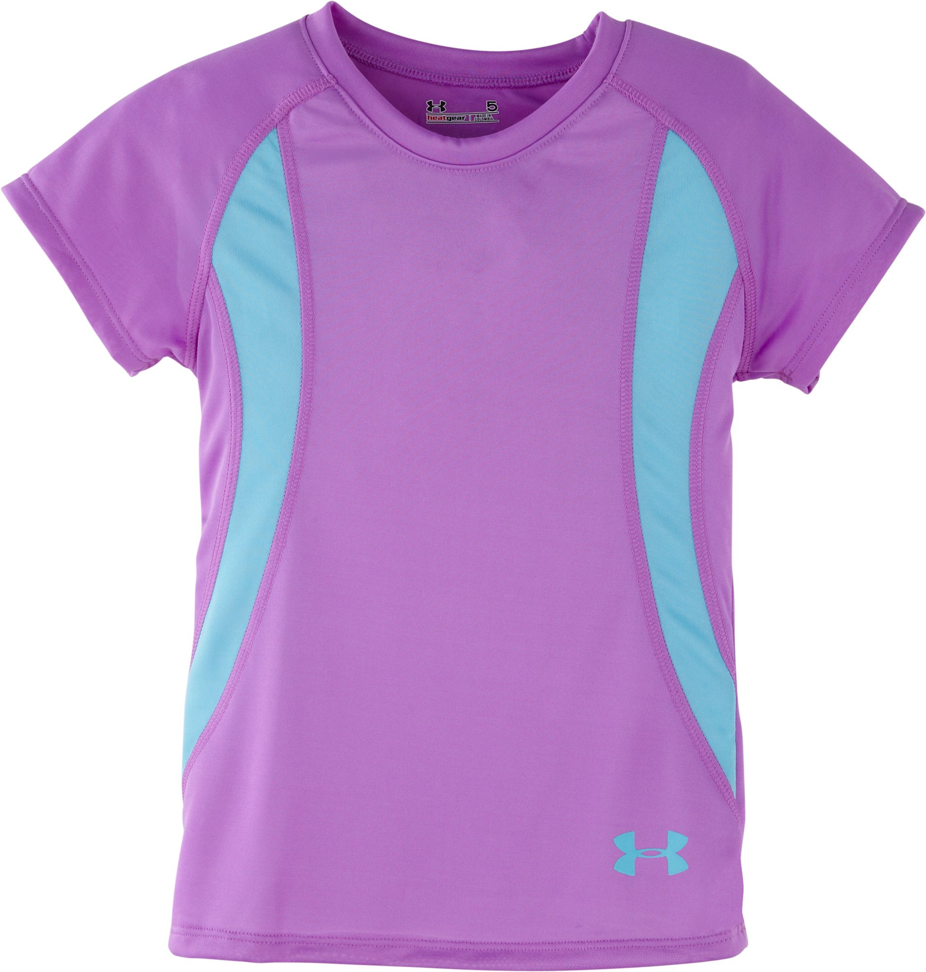 Girls' Toddler UA Winner T-Shirt, EXOTIC BLOOM, Laydown