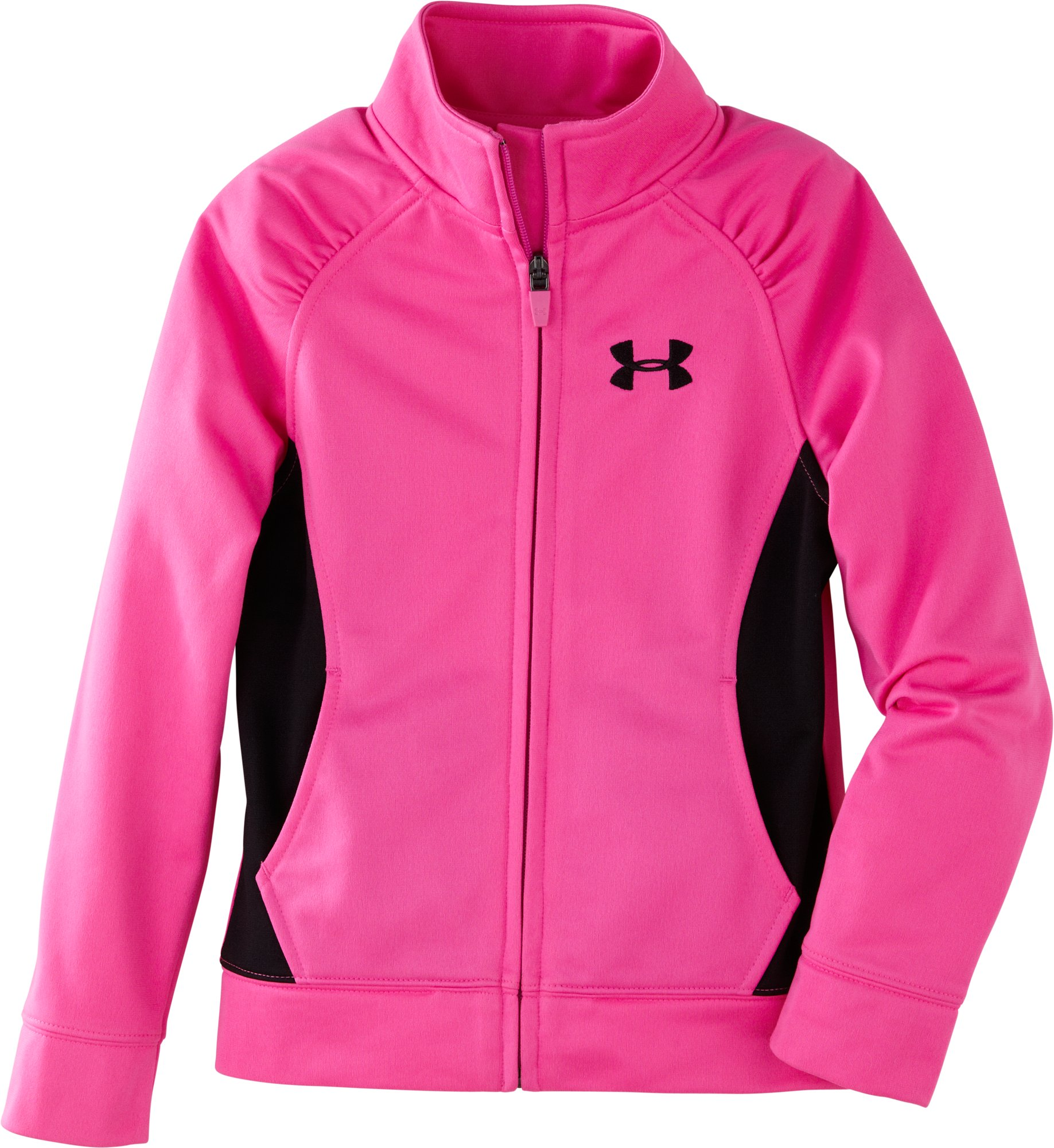 Girls' Infant UA Track Jacket, CHAOS, zoomed image