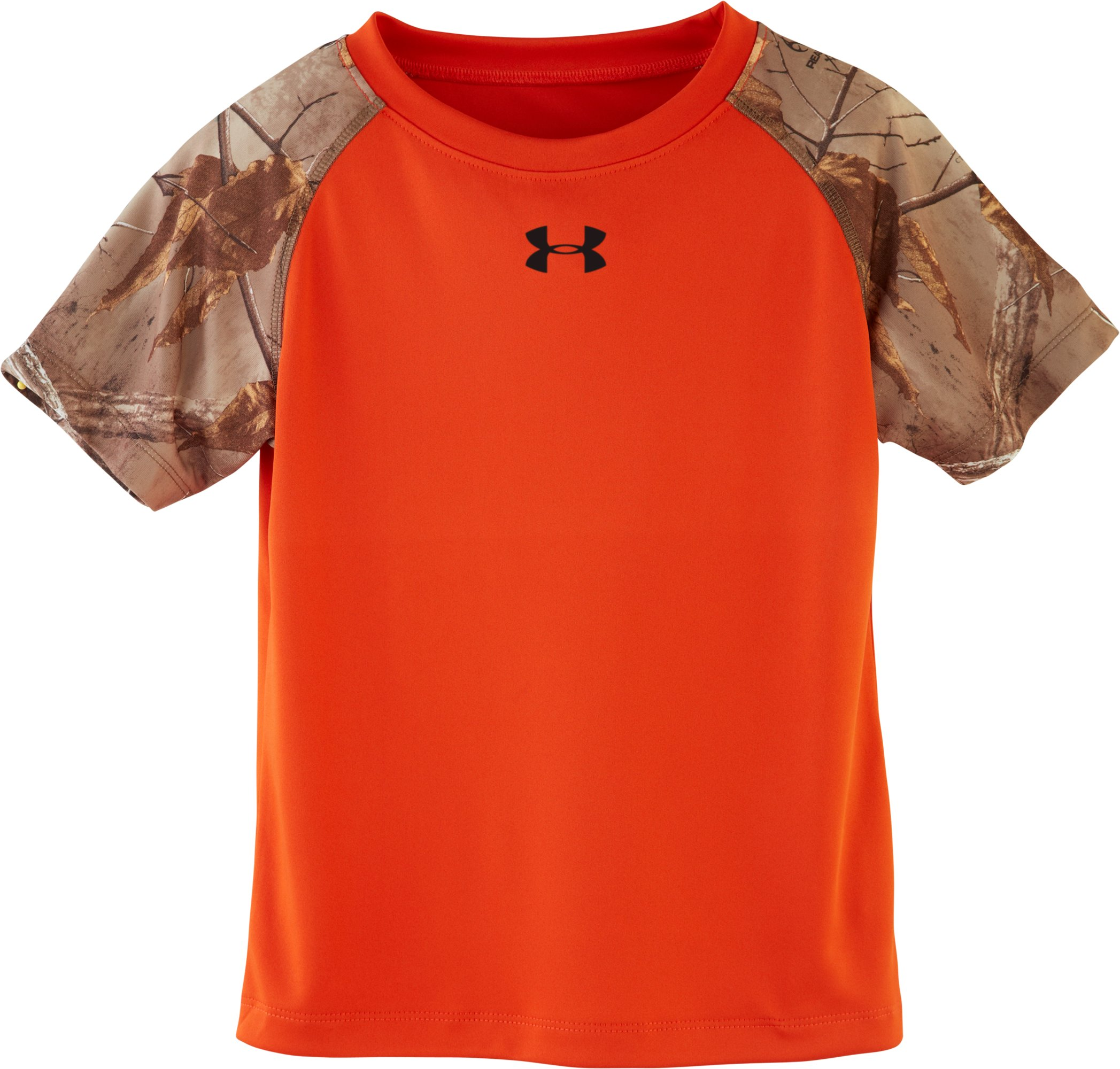 Boys' Toddler UA Camo Raglan T-Shirt, GOLDFISH, undefined