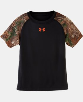 Boys' Infant UA Camo Raglan T-Shirt