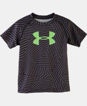 Boys' Toddler UA Big Logo Favella Print T-Shirt