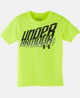 Boys' Toddler UA Branded Wordmark T-Shirt