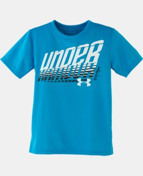 Boys' Infant UA Branded Wordmark T-Shirt