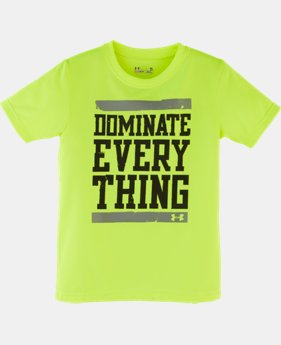 Boys' Toddler UA Dominate Everything T-Shirt