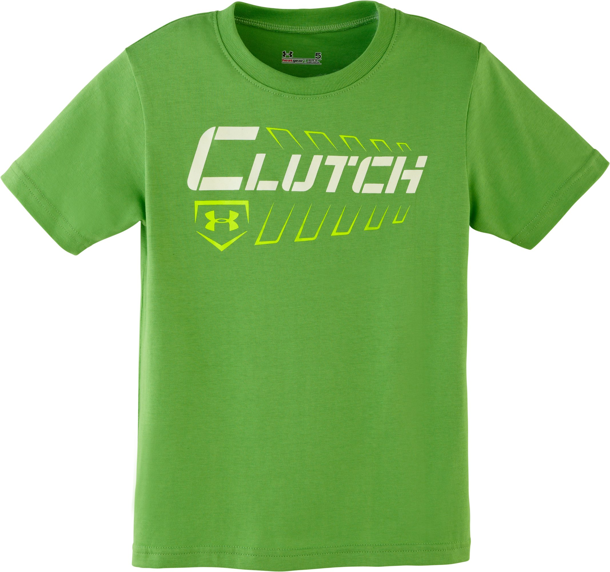 Boys' Toddler UA Clutch Spine T-Shirt, Lizard, Laydown
