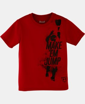 Boys' Toddler UA Make Em Jump T-Shirt