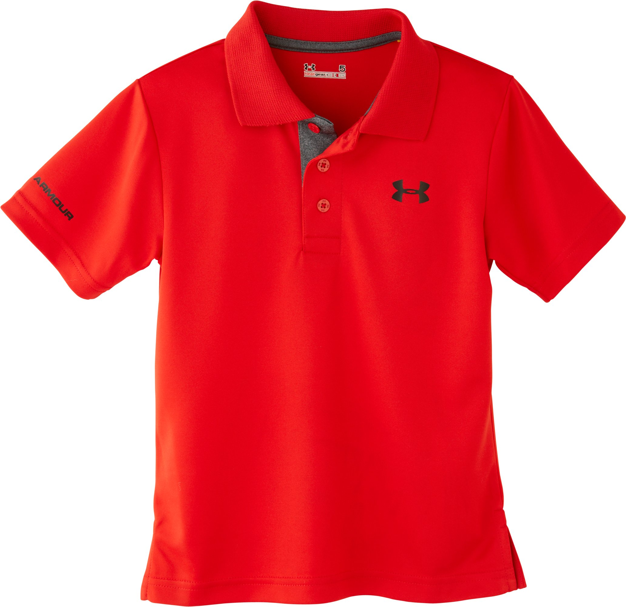 Boys' Infant UA Match Play Polo, Red, Laydown
