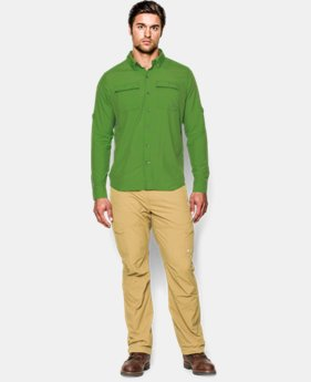 Men's UA Iso-Chill Flats Guide Long Sleeve Shirt LIMITED TIME: FREE U.S. SHIPPING  $59.99