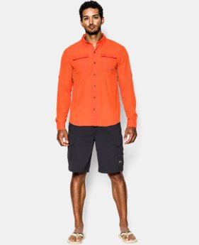 Men's UA Iso-Chill Flats Guide Long Sleeve Shirt