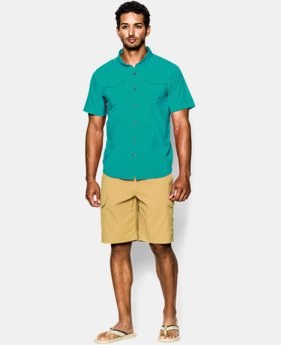 Men's UA Iso-Chill Flats Guide Short Sleeve Shirt LIMITED TIME: FREE U.S. SHIPPING  $52.99