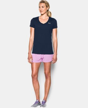 Women's UA Tech™ V-Neck  1 Color $18.99 to $19.99