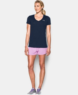 Women's UA Tech™ V-Neck  1 Color $24.99