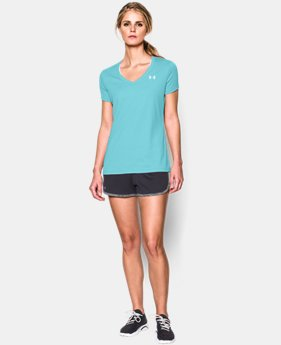 Women's UA Tech™ V-Neck  11 Colors $18.74
