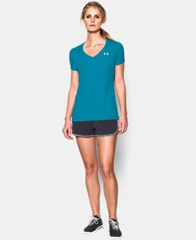 Women's UA Tech™ V-Neck  1 Color $14.99 to $18.99
