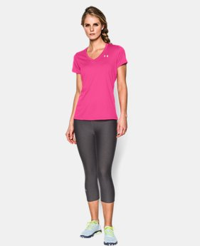 Women's UA Tech™ V-Neck  1 Color $14.99 to $19.99