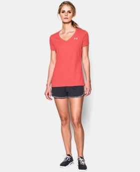Women's UA Tech™ V-Neck LIMITED TIME OFFER + FREE U.S. SHIPPING  $18.74