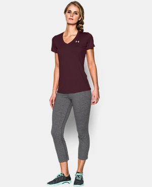 Women's UA Tech™ V-Neck LIMITED TIME: FREE U.S. SHIPPING 1 Color $14.99 to $24.99