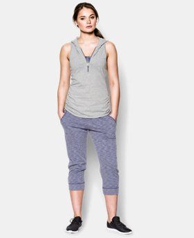 Women's UA Charged Cotton® Tri-Blend My Way Sleeveless Hoodie  1 Color $26.99