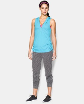 Women's UA Charged Cotton® Tri-Blend My Way Sleeveless Hoodie LIMITED TIME: FREE U.S. SHIPPING  $26.99