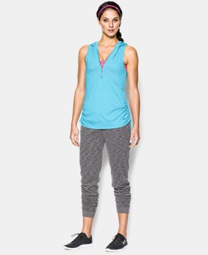 Women's UA Charged Cotton® Tri-Blend My Way Sleeveless Hoodie LIMITED TIME: FREE U.S. SHIPPING 1 Color $26.99 to $33.99