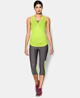 Women's UA Charged Cotton® Tri-Blend My Way Sleeveless Hoodie  4 Colors $26.99 to $33.99