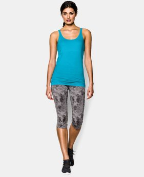 Women's UA Long & Lean Microstripe Tank