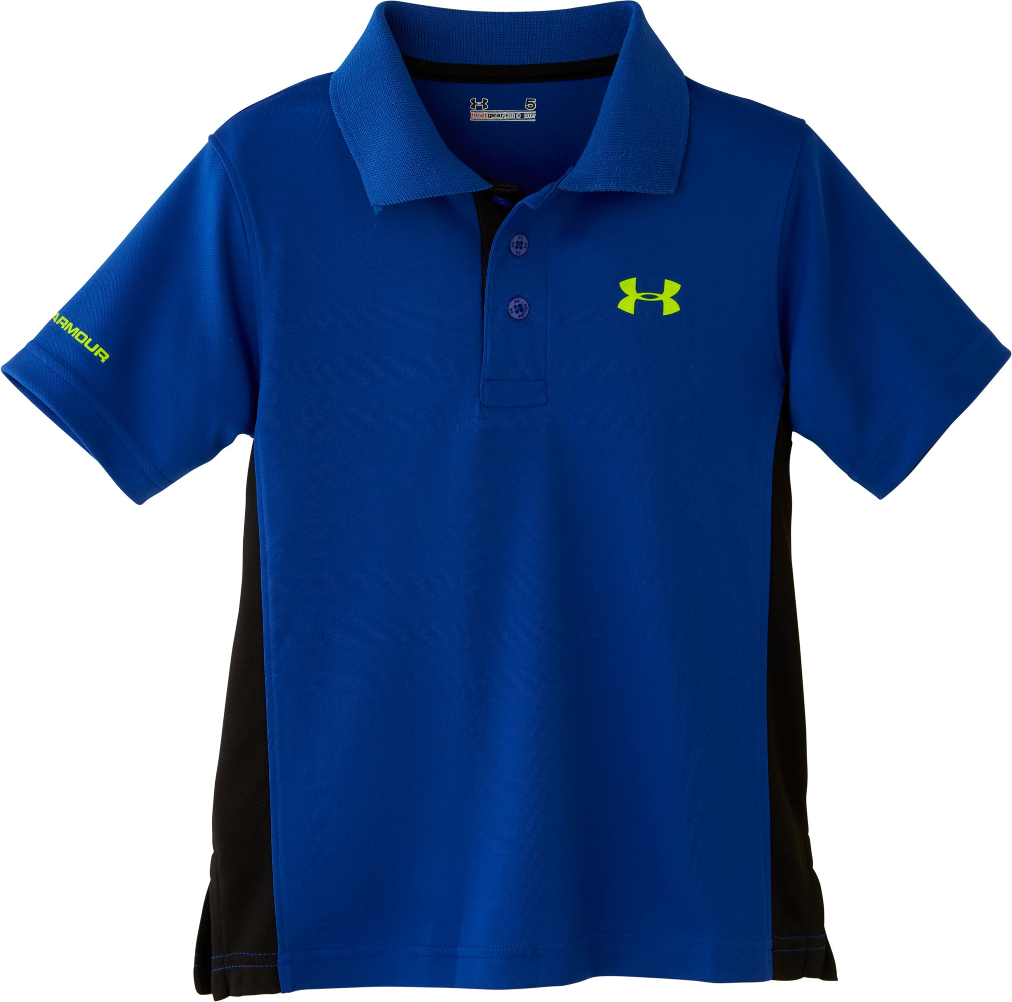 Boys' Infant UA CB Polo, Royal, Laydown