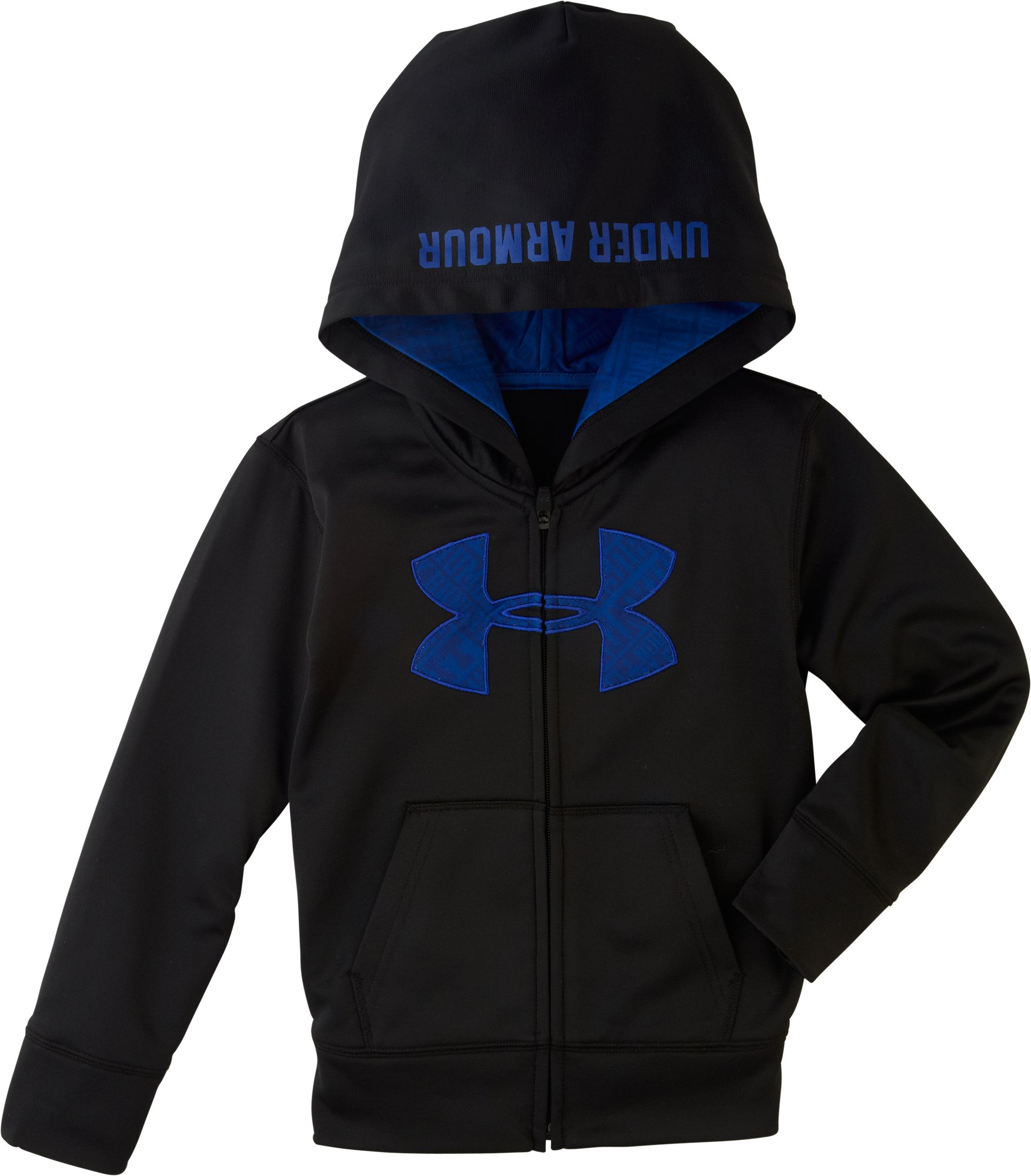 Boys' Infant UA Big Logo SMS Hoodie, Black