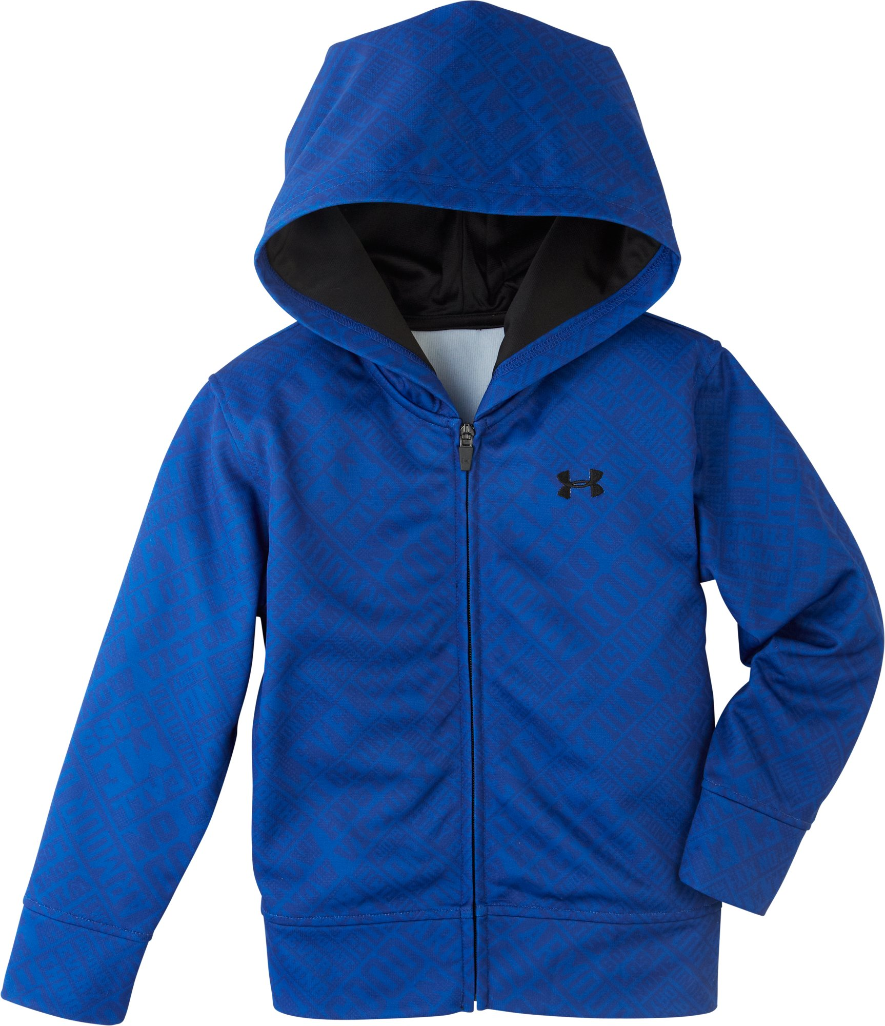 Boys' Infant UA SMS Allover Print Hoodie, Royal, undefined